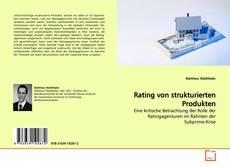Portada del libro de Rating von strukturierten Produkten