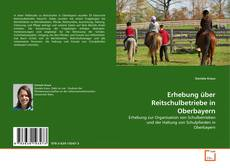 Erhebung über Reitschulbetriebe in Oberbayern kitap kapağı