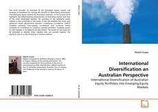 Bookcover of International Diversification an Australian Perspective