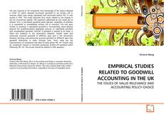 Buchcover von EMPIRICAL STUDIES RELATED TO GOODWILL ACCOUNTING IN THE UK