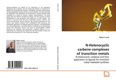Buchcover von N-Heterocyclic carbene complexes of transition metals