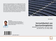 Vermarktbarkeit von Sportwettangeboten kitap kapağı