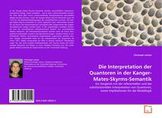 Portada del libro de Die Interpretation der Quantoren in der Kanger-Mates-Skyrms-Semantik