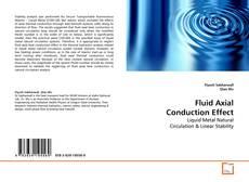 Capa do livro de Fluid Axial Conduction Effect