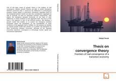 Обложка Thesis on convergence theory