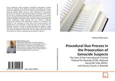 Bookcover of Procedural Due Process in the Prosecution of Genocide Suspects