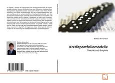 Buchcover von Kreditportfoliomodelle