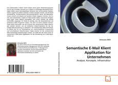 Buchcover von Semantische E-Mail Klient Applikation für Unternehmen
