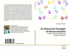 Buchcover von An Alternative Paradigm of Democratization