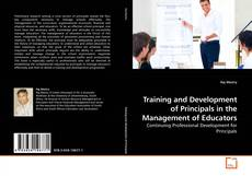 Couverture de Training and Development of Principals in the Management of Educators