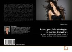 Bookcover of Brand portfolio strategies in fashion industries
