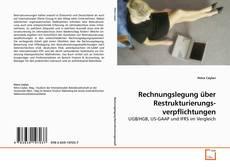 Capa do livro de Rechnungslegung über Restrukturierungs- verpflichtungen