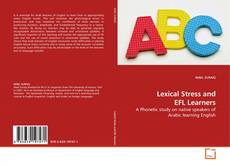 Buchcover von Lexical Stress and EFL Learners
