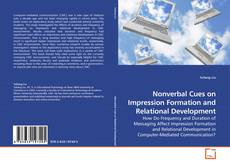 Nonverbal Cues on Impression Formation and Relational Development kitap kapağı