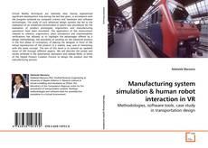 Manufacturing system simulation kitap kapağı