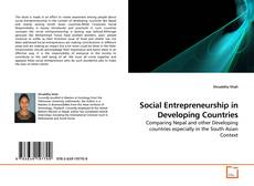 Couverture de Social Entrepreneurship in Developing Countries