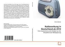 Bookcover of Radiowerbung in Deutschland ab 2010