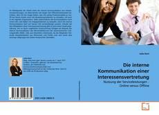Buchcover von Die interne Kommunikation einer Interessensvertretung