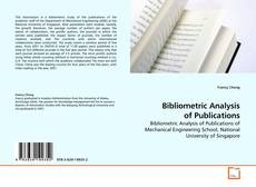 Bookcover of Bibliometric Analysis of Publications