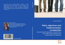 Policy objectives and implementation complexities kitap kapağı