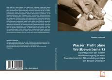 Bookcover of Wasser: Profit ohne Wettbewerbsmarkt