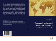 Capa do livro de Cosmopolitanism and Argentine Literature