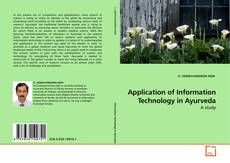 Portada del libro de Application of Information Technology in Ayurveda