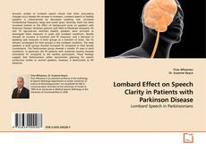 Copertina di Lombard Effect on Speech Clarity in Patients with Parkinson Disease