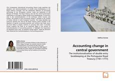Accounting change in central government kitap kapağı