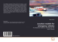 Buchcover von Location models for emergency vehicles