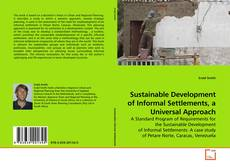 Bookcover of Sustainable Development of Informal Settlements, a Universal Approach