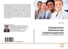 Portada del libro de Erfolgskritische Teilbereiche des Projektmanagements