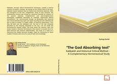 "Copertina di ""The God Absorbing text"""