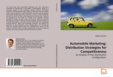 Bookcover of Automobile Marketing: Distribution Strategies for Competitiveness