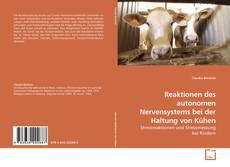 Reaktionen des autonomen Nervensystems bei der Haltung von Kühen kitap kapağı