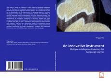 Borítókép a  An innovative instrument - hoz