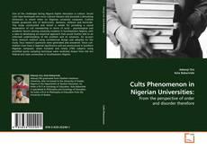 Couverture de Cults Phenomenon in Nigerian Universities:
