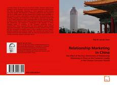 Couverture de Relationship Marketing in China