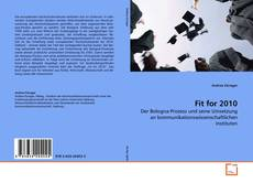 Bookcover of Fit for 2010