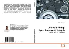 Bookcover of Journal Bearings Optimization and Analysis