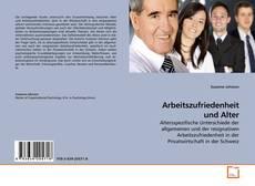 Buchcover von Arbeitszufriedenheit und Alter
