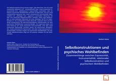 Buchcover von Selbstkonstruktionen und psychisches Wohlbefinden