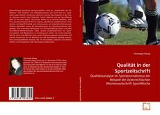 Couverture de Qualität in der Sportzeitschrift