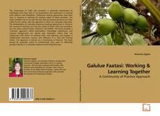 Galulue Faatasi: Working kitap kapağı