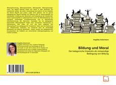 Buchcover von Bildung und Moral