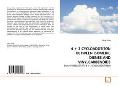 Bookcover of 4 + 3 CYCLOADDTITON BETWEEN ISOMERIC DIENES AND VINYLCARBENOIDS