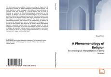 Bookcover of A Phenomenology of Religion
