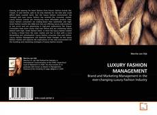 Bookcover of LUXURY FASHION MANAGEMENT