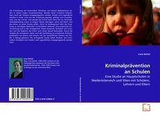 Borítókép a  Kriminalprävention an Schulen - hoz