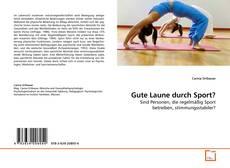 Bookcover of Gute Laune durch Sport?